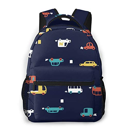 Cute Car Girls Unisex Fashion Laptop School Bag Backpack