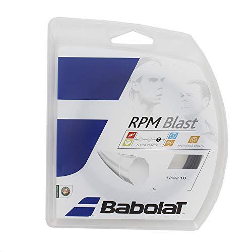 Babolat RPM Blast 12M Cordaje de Tenis, Unisex Adulto, Negro, 120