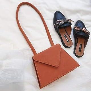Adebie - Brand Vintage Women Bag 2019 New Fashion Female Top-Handle Purse Flap Lady Luxury Chic INS Box Bag High Quality Dames Handbags Orange []