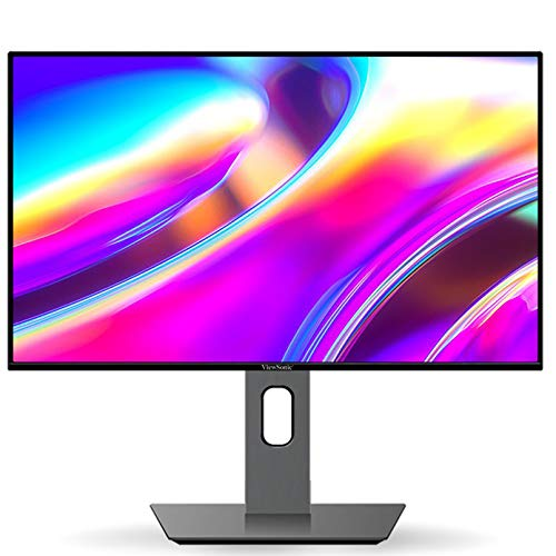 24 Pulgadas Monitor - Full HD 1080P Monitor Gaming, 16: 9, 75 Hz, Panel IPS, Sin Destellos, Luz Azul Baja, Ergonómico Monitor con Inclinación, Rotación, Altura Ajustable