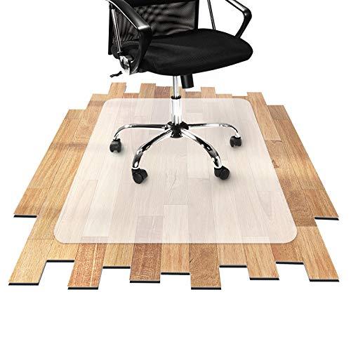 Tapis protège-sol Office Marshal® pour parquets et stratifiés en PP | antiglisse et semi-transparent | plusieurs tailles au choix - 90x120cm