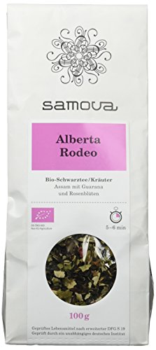 Samova Alberta Rodeo Refill - Schwarztee/Kräuter 100g, 1er Pack (1 x 100 g)