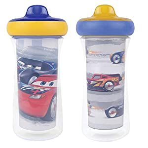 The First Years Disney/Pixar Cars Insulated Sippy Cup 9 Oz – 2pk, Multi