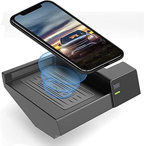 Cargador Inalámbrico para Coche,para Mercedes Benz C/Class W205 C180 C200/300 C260 AMG GLC 2015-2020 Tablero de Carga con QC 3.0 y USB Salida de Potencia Puerto 15W Cargador de teléfono móvil