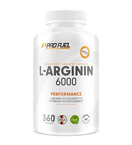 L-Arginin 360 vegane Kapseln mit 6000mg pflanzlichem L-Arginin aus Fermentation (davon 6000mg reines L-Arginin) je Tagesdosis - Ohne Zusätze - 100{0b591e7931907420e9c6b8db846210946919d4752d0dfa7f86fc2fb5292da8da} vegan