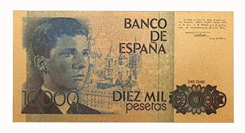 IMPACTO COLECCIONABLES España, 10.000 Pesetas en Oro de 24k. Príncipe Felipe