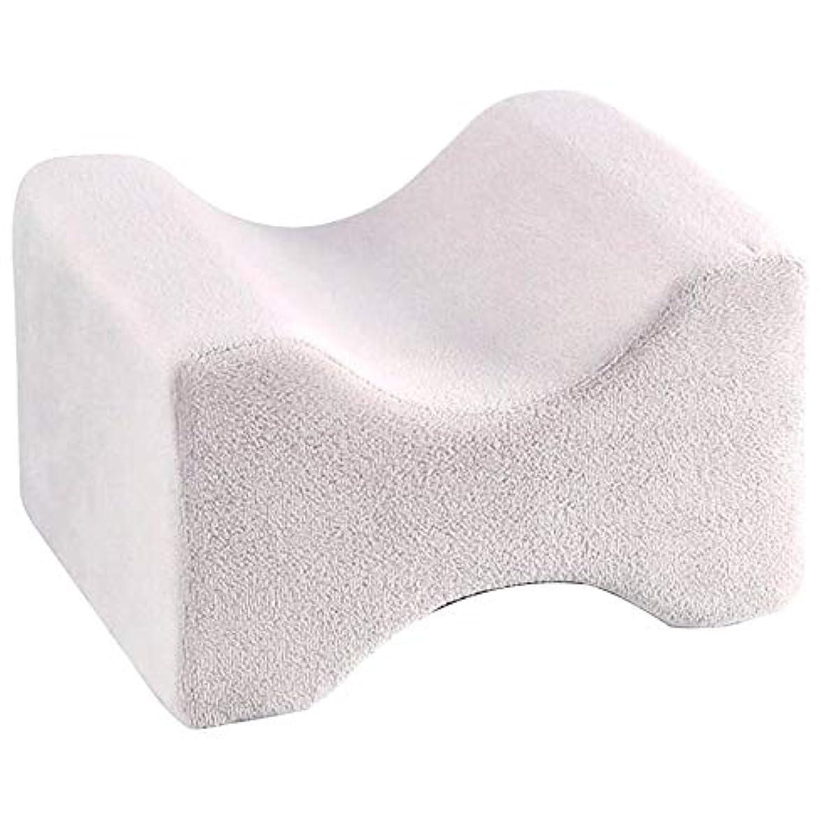 外交問題優雅な終わらせるソフト枕膝枕クリップ足低反発ウェッジ遅いリバウンドメモリ綿クランプマッサージ枕用男性女性