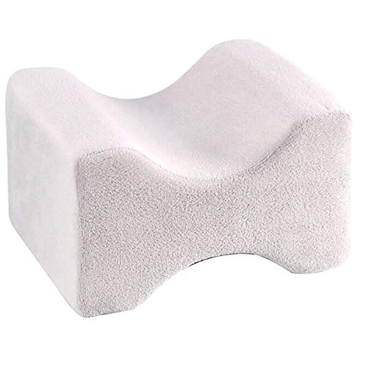 スクラップエレベーター豆ソフト枕膝枕クリップ足低反発ウェッジ遅いリバウンドメモリ綿クランプマッサージ枕用男性女性