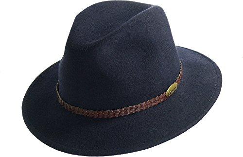 rollbarer Hut in 3 Farben, Kopfgroesse: 58, Marine
