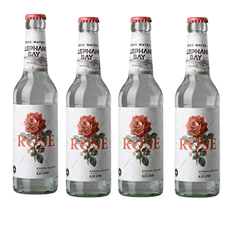 6 Flaschen Elephant Bay Rose Water a 330ml inc. 0.48€ MEHRWEG Pfand