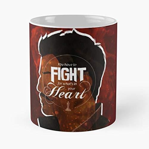 92Wear Dorian Pavus Dragon Age Inquisition Mage Fight Heart Tevinter - Best 11 oz Taza De Café - Taza De Motivos De Café
