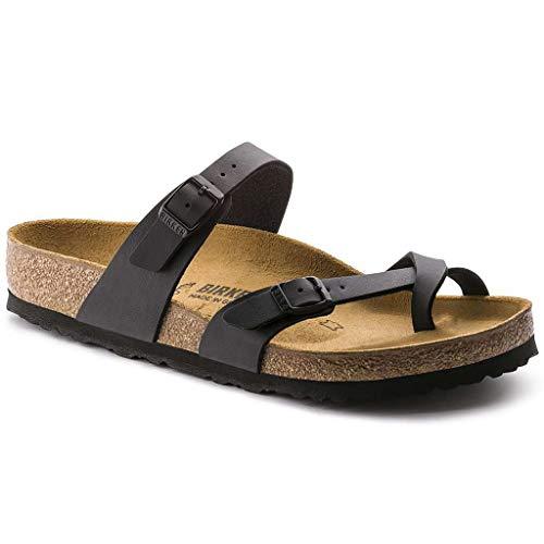 [ビルケンシュトック] レディース 女性用 シューズ 靴 サンダル Mayari – Black Oiled Leather 41 (US Women's 10-10.5) Regular [並行輸入品]
