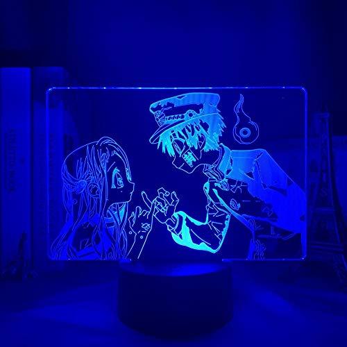 Niños Dormitorio Decoración Enviar Señoras Anime Atado Huazikun lámpara, Utilizado para Dormitorio Decoración LED Noche Regalo de Cumpleaños ERJIE