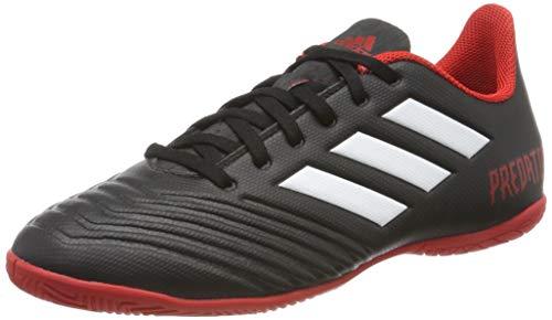 adidas Predator Tango 18.4 in, Zapatillas de fútbol Sala Hombre, Multicolor (Negbás/Ftwbla/Rojo 000), 46 EU