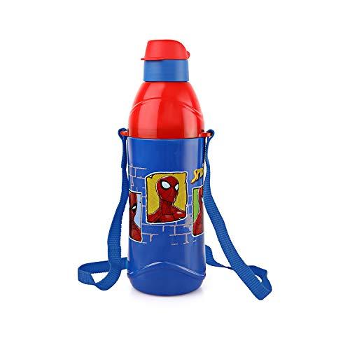 Cello Puro Kids Steel Inner 600ml Water Bottle for Kids, Blue,Set of 1