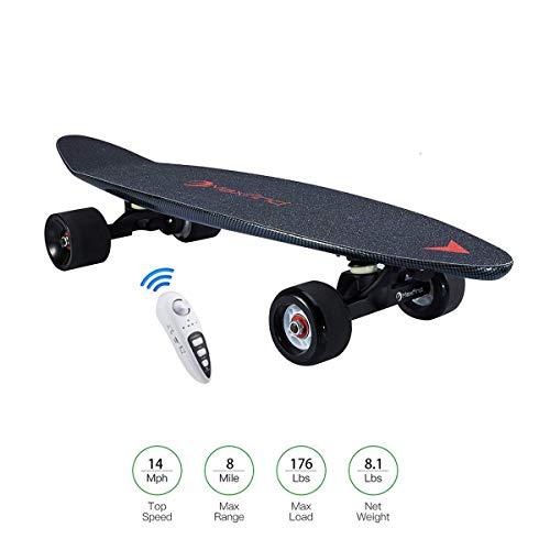 Elektrische Power Skateboard Hub Motor 500w Penny Board met draadloze afstandsbediening voor kinderen en volwassenen
