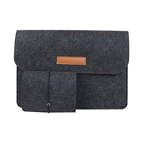 Mazu Homee, 11-17 inch felt tablet case, suitable for 12.9 inch iPad Pro 2020 / 12.4 inch Surface Laptop Go / 12.3 inch Surface Pro 7/13 inch Surface Pro X / 13.4 inch DELL XPS 13 /-more colors