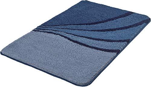 Kleine Wolke Badteppich Julie Mare 70x120 cm blau