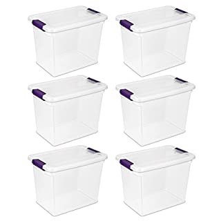 Sterilite 17631706 27-Quart Clear View Latch Box, 6-Pack (B004QJIAXU) | Amazon price tracker / tracking, Amazon price history charts, Amazon price watches, Amazon price drop alerts