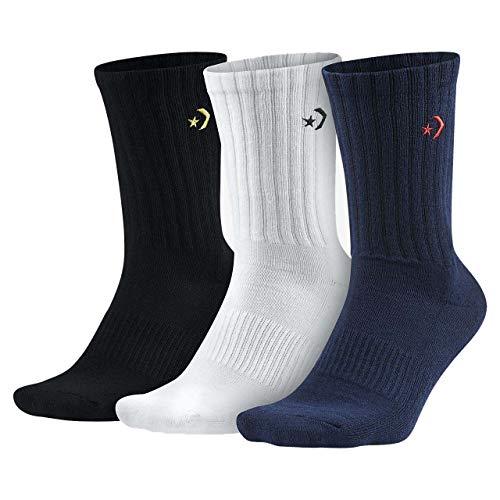 Converse Men`s Crew Socks 3-Pack