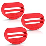 (3 Pack) eZtotZ BuckleShield Seatbelt Lock Buckle Cover - Made in USA - Prevents Children from Accidentally Unbuckling Seat Belt - Premium Heavy Duty ABS Plastic- Universal Fit - Must Have for Travel
