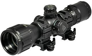 UTG 3-9X32 1in BugBuster Scope, AO, RGB Mil-dot, QD Rings (Renewed)