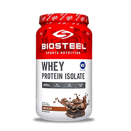 Biosteel Biosteel Whey Protein Isolate - Alimentado con Pasto - sin Stevia - sin Ogm - sin Gluten - sin Soja - sin Antibióticos Ni Hormonas - Chocolate - 816G 810 g