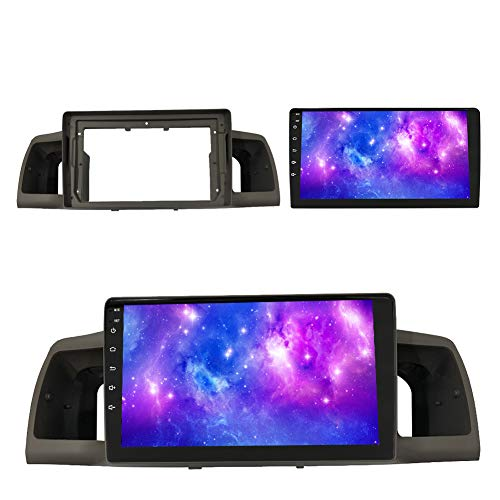 FDSAD Android 9.1 Smart GPS Pantalla táctil (9.1 Pulgadas) Coche Mp5 Reproductor de DVD Navegación Android Radio WiFi, para Toyota Corolla 2007-2012