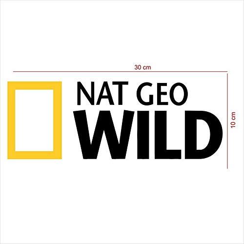 ARWY Car-Styling NAT Geo Wild Car Sticker Big Size(30 cm X 10 cm)