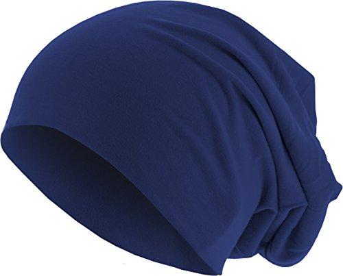 MSTRDS Jersey Beanie Bonnets en Mailles, Blau (Royal 3414), Taille Unique Femme
