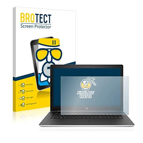 BROTECT Entspiegelungs-Panzerglasfolie kompatibel mit HP ProBook 470 G5 - Anti-Reflex Panzerglas Schutz-Folie Matt