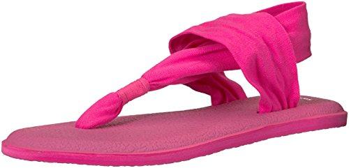 Sanuk Yoga Sling#2 Spectrum, Chanclas Mujer, Color Rosa, 36 EU