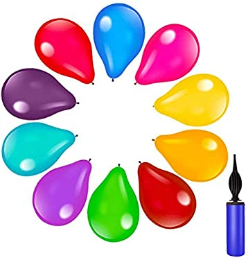150pcs Assorted Color Party Balloons Supplies,12 Inches 15Kinds of Multicolor Rainbow Latex Balloons,Perfect for Birthday Party Decorations, Balloons for Birthday