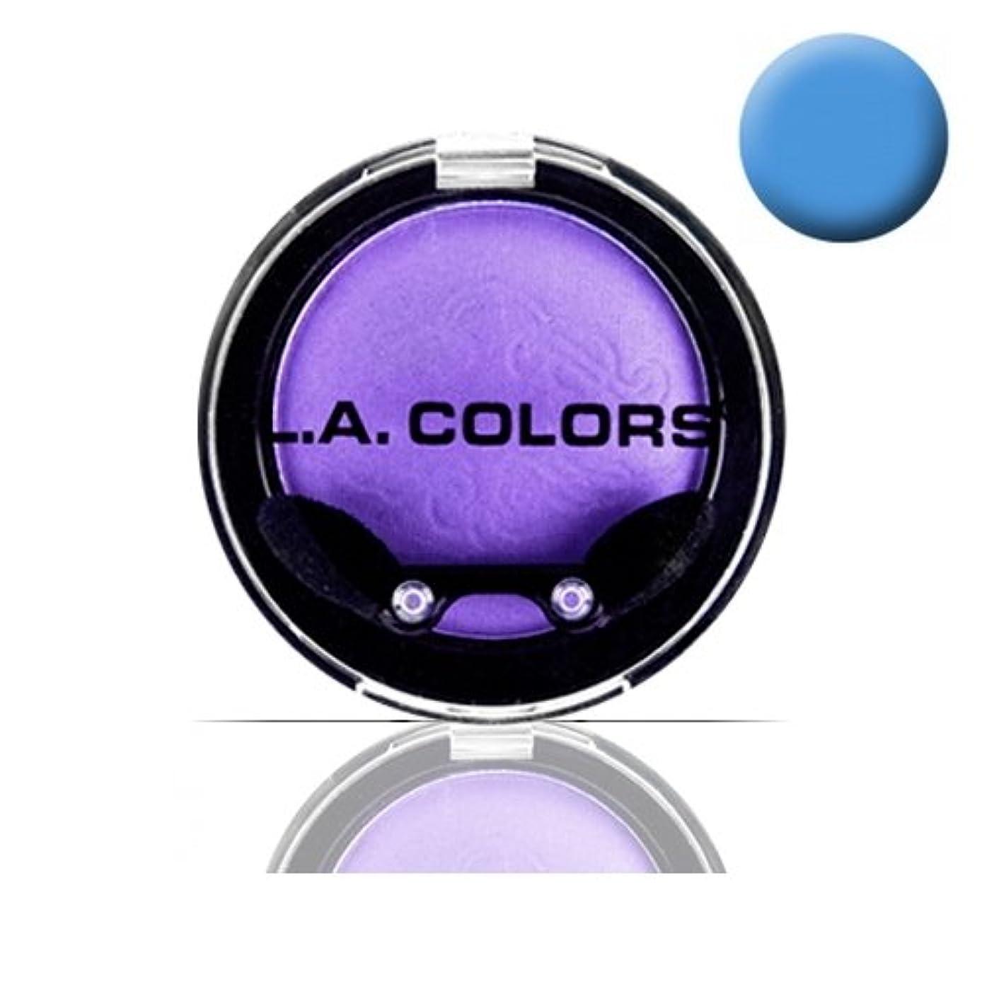 ベッツィトロットウッド単独で自宅でLA COLOR Eyeshadow Pot - Electric Blue (並行輸入品)
