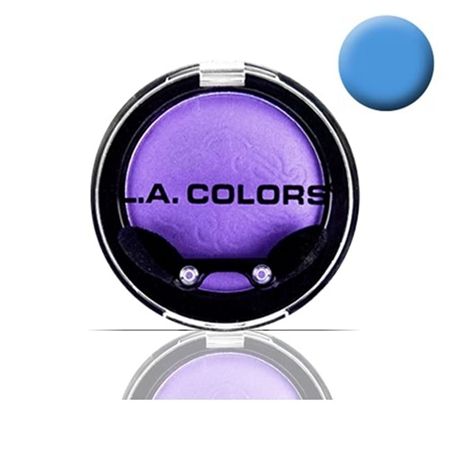 奇跡的なシンポジウム駅LA COLOR Eyeshadow Pot - Electric Blue (並行輸入品)