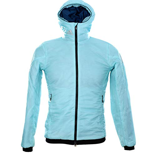adidas Primaloft Event Athleten Sportjacke Athleten Winter Jacke Damen Gr 32 XS