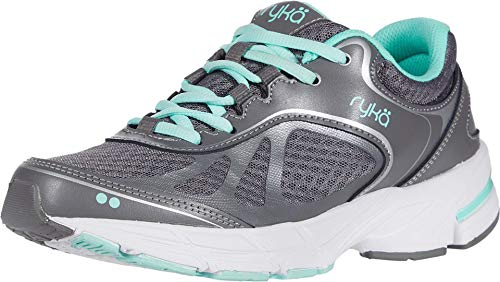Ryka Womens Infinite Plus Athletic Shoes 10 Gray/Mint