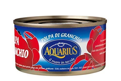 Carne de cangrejo Acuario en salmuera (100% pulpa) - 1 x 170 gramos