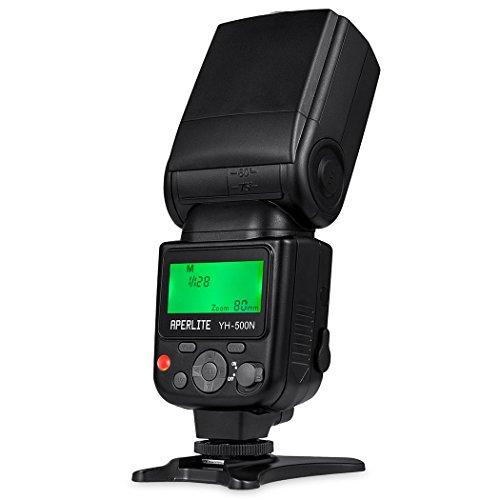 Aperlite Speedlite YH-500N - Flash Profesional, para Nikon Digital ...