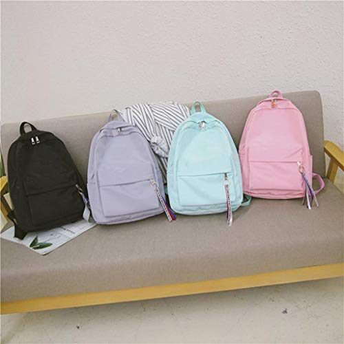 Women Backpack Solid Color Travel Bag Best Shoulder Bag For Teenage Girl School Bag Bagpack Rucksack Knapsack