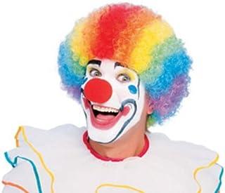 Rubie's Men's Humor, Value Rainbow Clown Wig, Multicolor, One Size