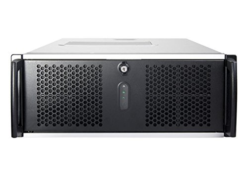Chenbro Micom RM41300Rack Grigio vane portacomputer–Scatola di PC, Mensola, ABS sintetici, SGCC, EEB, Grigio, 4U, 1,2mm