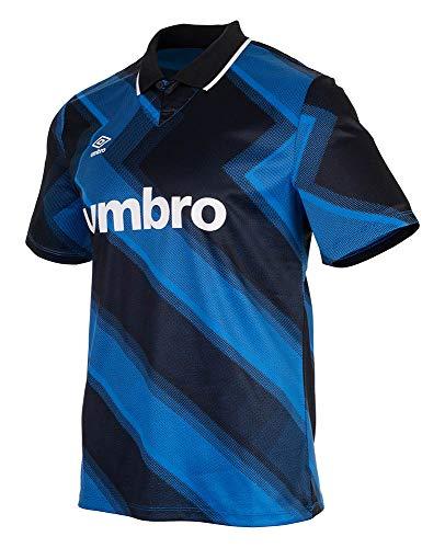 Umbro Terrace Shirt Camisa de Polo, Azul, L Unisex Adulto