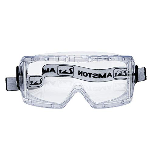 Amston Safety Goggles - ANSI Z87.1 & OSHA Compliant - Protective Eyewear for Construction, DIY, Lab & Home (1)