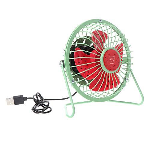 Kofun USB-Desk ventilator, metaal, mute, kantoor, thuis, auto, reis, persoonlijke mini-tafel, draagbare outdoor-fan 4 en 6 inch optioneel