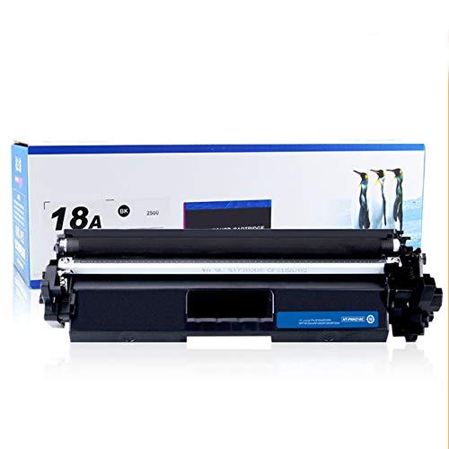 JZMY Cartucho de tóner para HP Colour LaserJet UL Tramfp M132A M132FN M132NW M132FP M104W M104A modelo CF218A/18A, servicio de alta definición uno