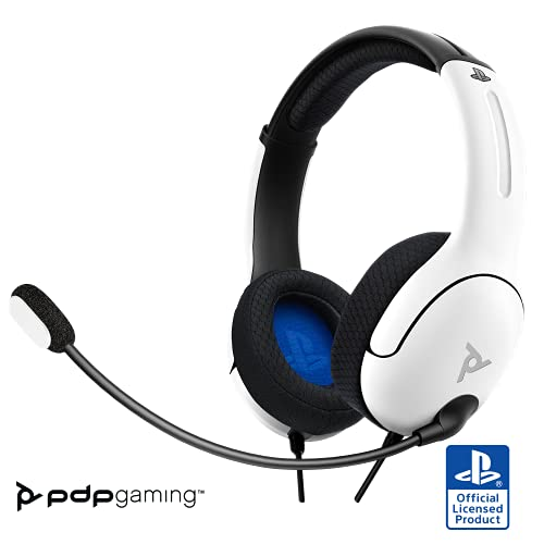 PDP LVL40 Stereo Headset PS4 Blanco