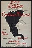 Cocteau Jean Marais Theater, Poster, Reproduktion/Format 50