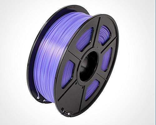 1pc 3D-Drucker Filament PLA + / PLA 1.75mm 2.2 LBS 1KG Spool 3D-Drucken-Material 3D-Drucker und 3D-Pens (Farbe : Lila)