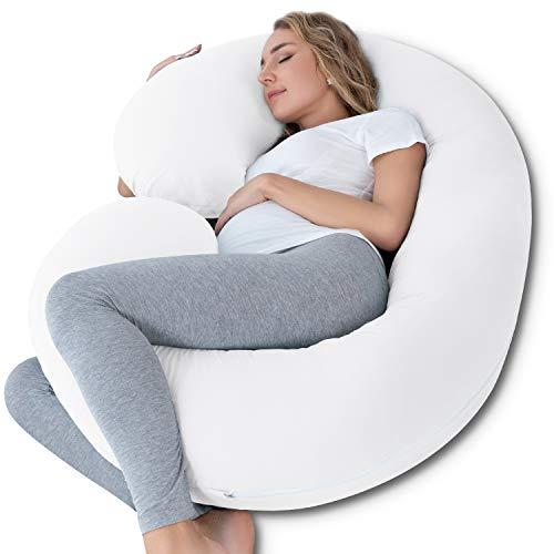 INSEN Pregnancy Body Pillow,Full Body Pillow,C...